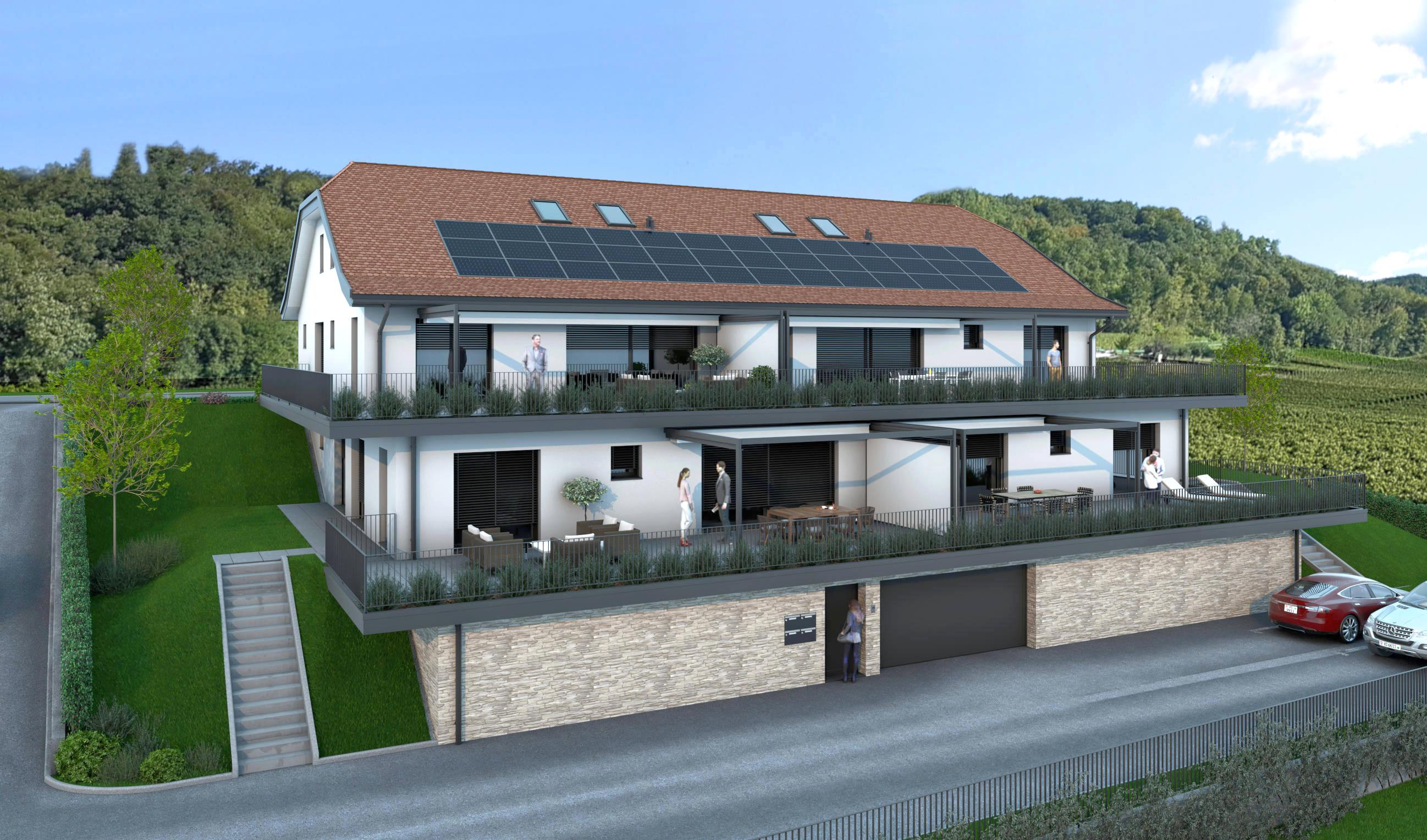 Promotion immobilière à Vinzel